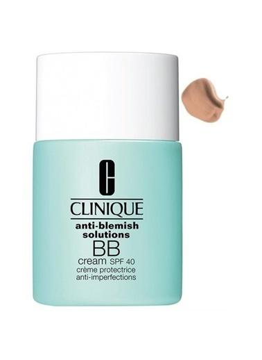 Clinique Anti Blemish Solutions Bb Cream Spf 40 Light Medium Renkli